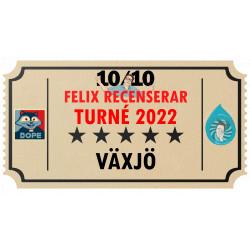 Biljett till Felix Recenserar i Växjö!