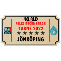 Biljett till Felix Recenserar i Jönköping!