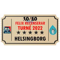 Biljett till Felix Recenserar i Helsingborg!