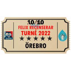 Biljett till Felix Recenserar i Örebro!